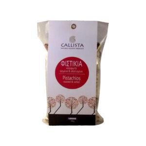Κελυφωτά φιστίκια 180γρ – Ψημένα και αλατισμένα CALLISTA - NATURAL HELLENIC PRODUCTS100%
